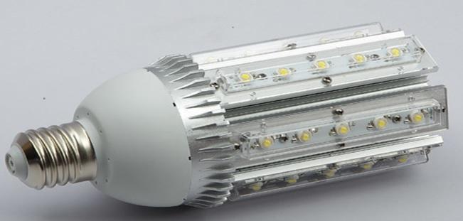 Как собрать светодиодный уличный светильник